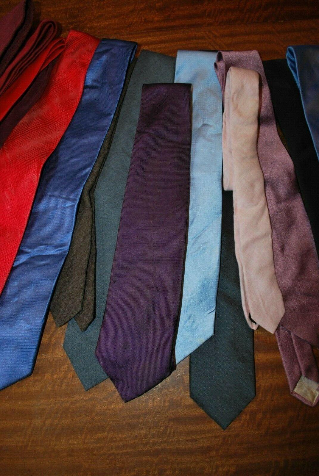 15 x various coloured Tie's job lot bulk buy 6