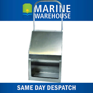 Other Trolling Motors & Components Aluminium Boat Centre Console 1/2 Single W/ Rail  1000mm X 400mm X 300mm 407167R