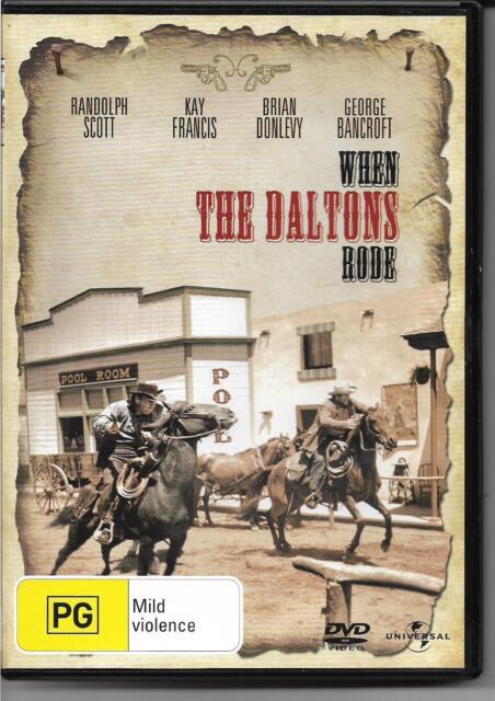 When the Daltons Rode (DVD, 2008) Western Drama B&W