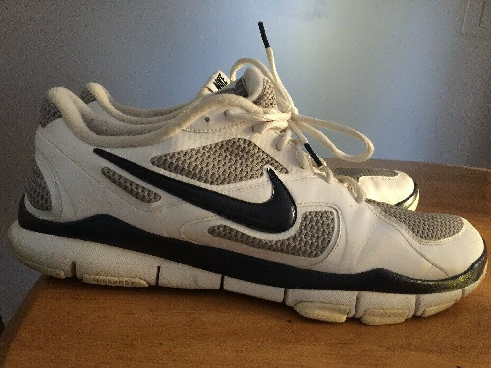 NIKE FREE TR Trainer Running Running Running Walking Pelle Fashion Athletic Uomo Shoes Sz 16 ~ c1cd9a