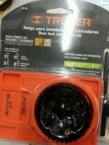 KIT-4X Door Lock installation kit Truper