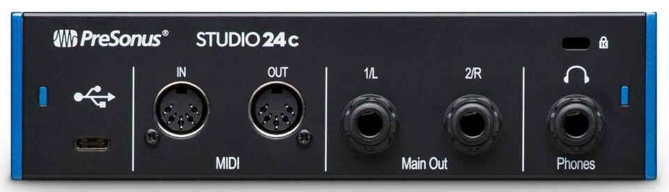Presonus Studio 24c Audio Interface USB-C
