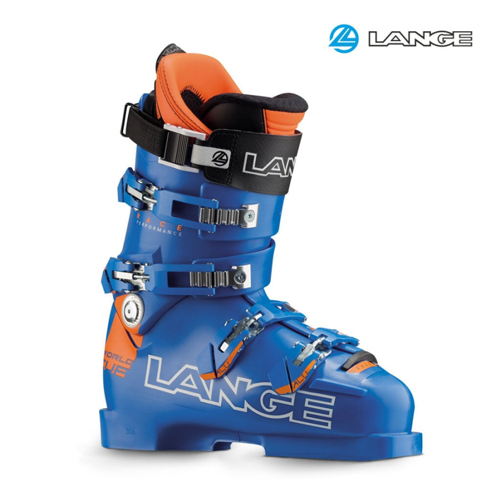 2017 LANGE WORLD CUP RP ZB Ski Boots SIZE 26.5 LBF9250