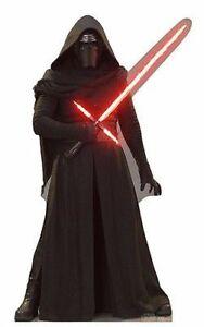 star wars kylo ren villain darth vader lifesize standup cardboard cutout 2046 | ebay