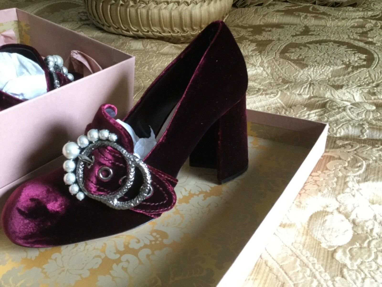 miu miu shoes 39 new in authentic box pearls sold out authentic in fd2ce1