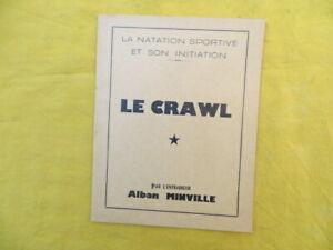 Natation sportive - Le CRAWL - Alban Minville