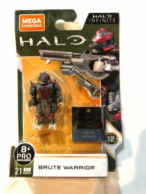 Mega Construx Halo Infinite Brute Warrior 21pcs Mini Figure Mattel