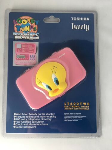 Electronic Diary Looney Tunes Tweety  Brand New Sealed In Box Vintage Item