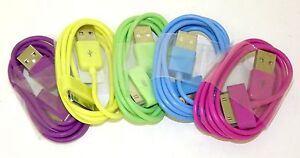 iPhone-iPod-USB-Charger-Data-Sync-39-in-Cable-3GS-4G-4S-Nano-Touch-Many-Colors