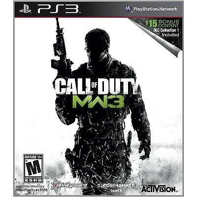 PS3 Call Of Duty: Modern Warfare 3  with DLC Collection 1