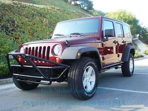 Image Is Loading Pre Runner Black Front Bumper 2007 2013 Jeep