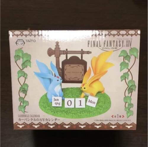 Final Fantasy XIV FF14 Carbuncle Perpetual Calendar TAITO