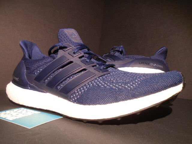 2015 Adidas Ultra Boost M 1.0 Colegial Azul marino Plateado blancoo Negro S77415 11