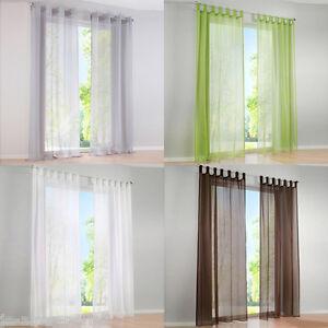 Rideau-Panneau-Voilage-Fenetre-Curtain-Decoration-Maison-Balcon-Salon-Chambre