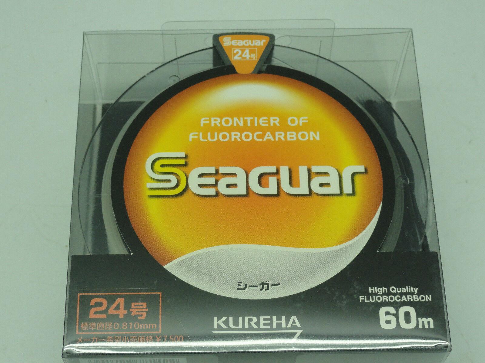 SEAGUAR davantiIER gree gioco FLUoroautoBON LEADER Japan   24 U.S 90 lb 60m66yds
