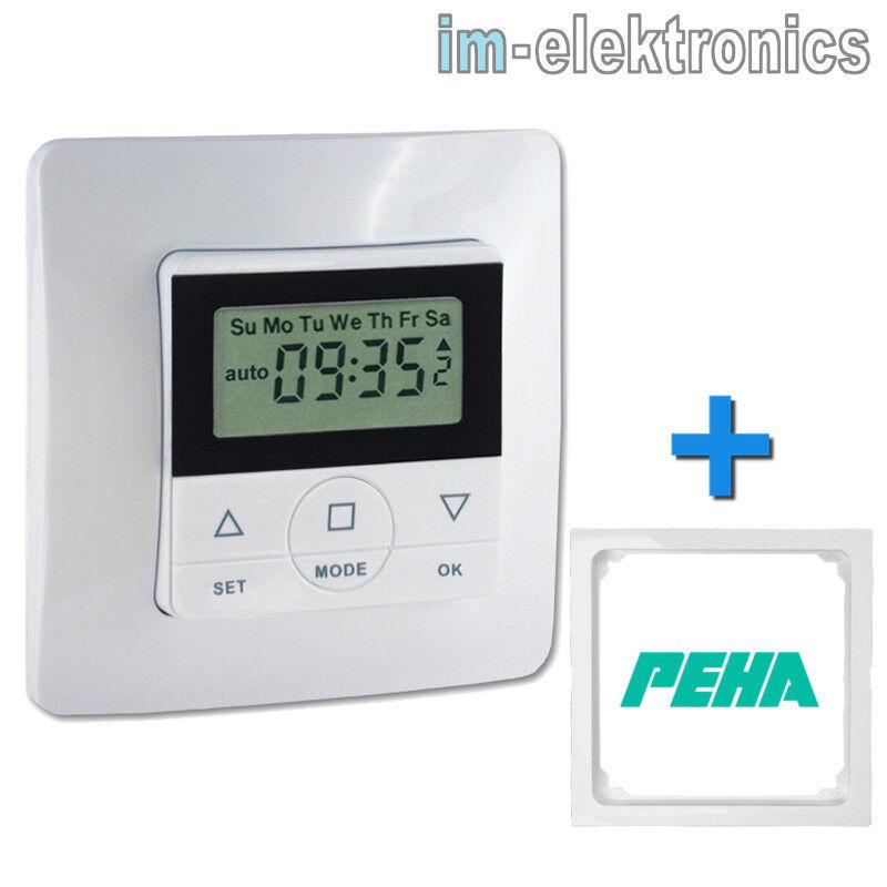 Temporizador timer casaspiri 50F. Persianas Venecianas + PEHA Marco Intermedio