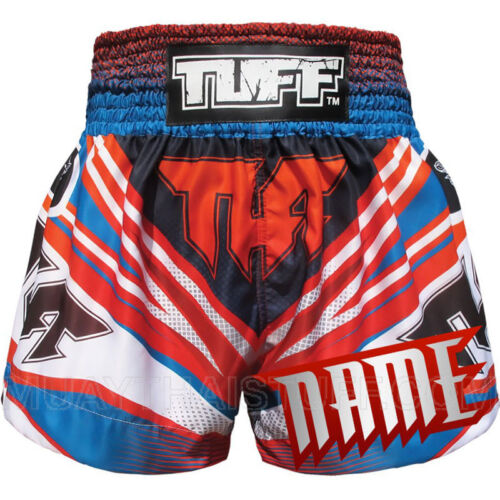 TUFF Muay Thai Kick Boxing Shorts MS6A Custom Free Add Name Personalize MMA