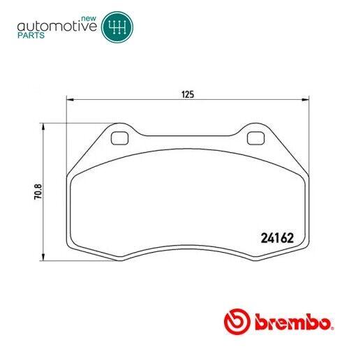Front Brake Pads Set P 68 036 For RENAULT CLIO, MEGANE