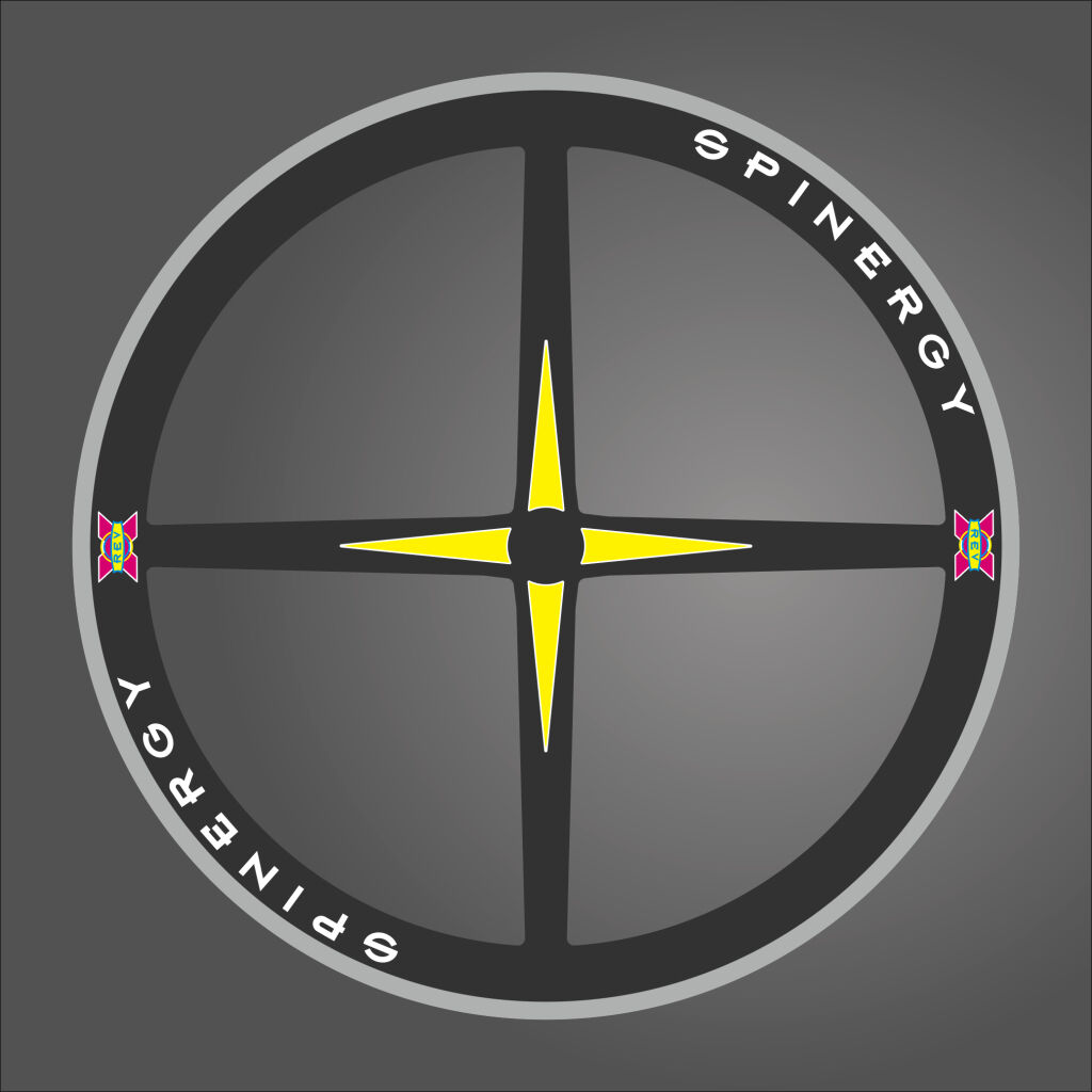 SPINERGY RIM DECALS SET FOR TWO WHEELS