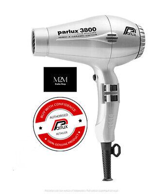 Parlux 3800 Eco Friendly Ionic Argento phon Professionale   eBay
