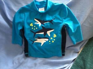 NEW-Carter-s-Sun-and-Rash-Protection-Shirt-3-6-Months