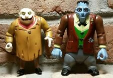 "1992 The Addams Family Lurch UNCLE FESTER Action Figure lot Playmates Toys 5"" dc"