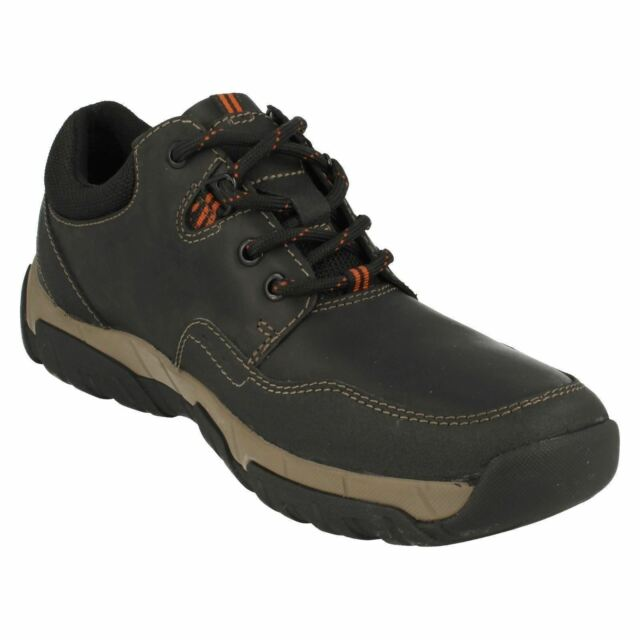 Clarks 'Walbeck Edge' Men's Brown Lace