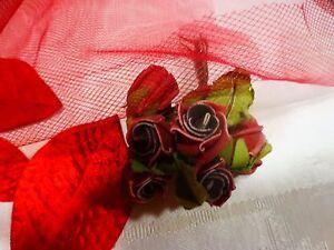 lot-fleurs-anciennes-pour-deco-chapeaux-ou-autre-rouges-voilette-rouge