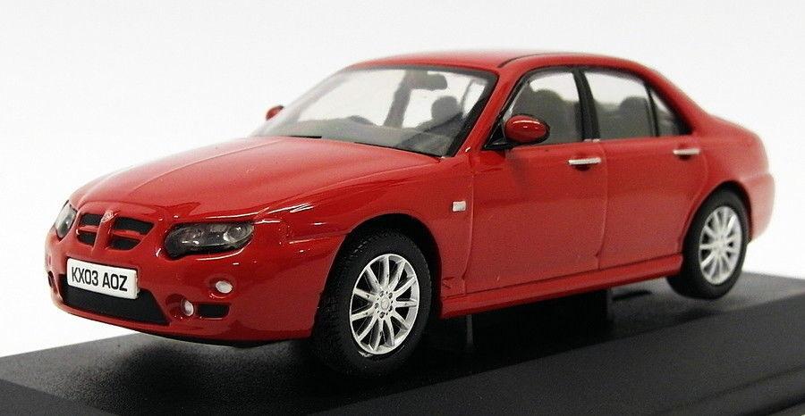 Vanguards 1 43 Scale Model Car VA09303 - MG ZT - Solar Red