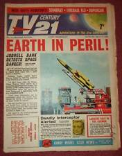 TV 21 #10 CENTURY FIREBALL XL5 STINGRAY THUNDERBIRDS DALEKS COLOUR DR WHO