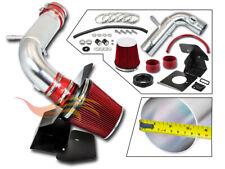 Red Cold Shield Air Intake Kit Filter For 2011 2019 Explorer 35l V6 Non Turbo