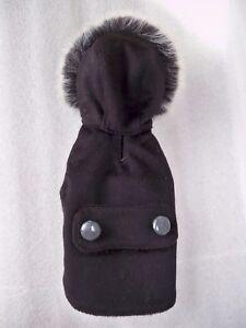 Dress Dog Clothing Manteau Manteau De Cachemire    Tg.   inamorada  XXS
