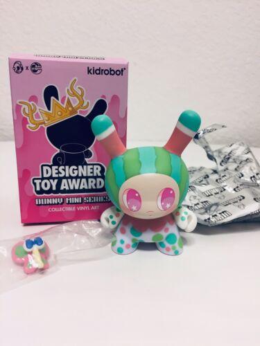 "Kidrobot Dunny-2017 Designer Toy Awards ""Watermelon Mango"" By So Youn Lee"