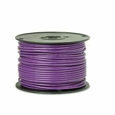 100ft 20awg 20ga Belden 9919 Pvc Purple 300v Stranded Copper Wire