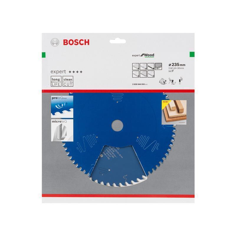 Bosch HM-Sägeblatt 235x2,8x30 Z56 2608644066 Expert for Wood für Handkreissägen