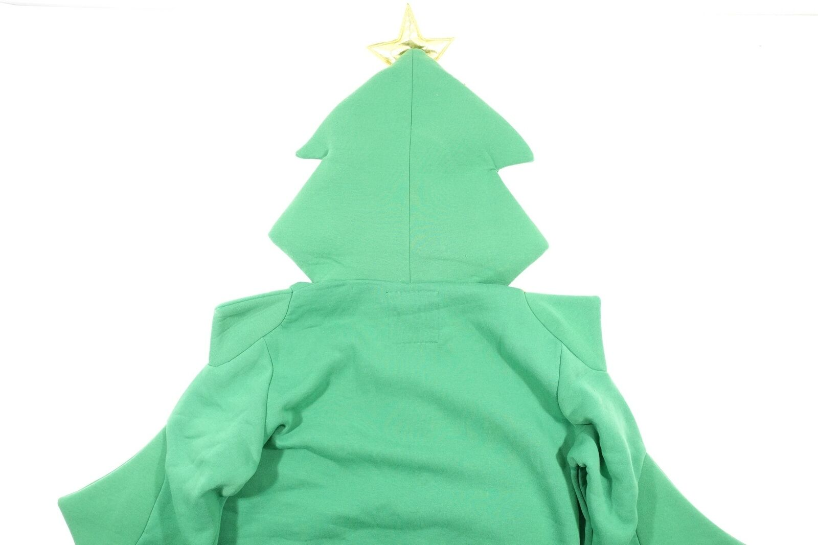 AMERICAN STITCH LARGE CHRISTMAS TREE HOLIDAYS HOODIE EMBELLISHED UGLY SWEATER