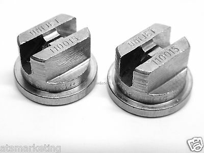 Carpet Cleaning Quality Stainless Steel TeeJets for Wands (Set Of 2)