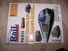 $$ Rail Passion N°70 CF Lorraine L'Athus Meuse Train Capitale