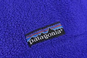 Patagonia-Button-Neck-Fleece-Jumper-Size-M