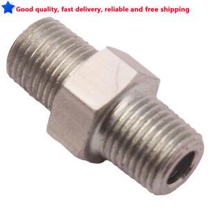1-8-034-NPT-Male-to-1-8-034-NPT-Straight-Thread-Reducer-Alloy-Adapter-Mild-Steel