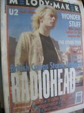 Melody Maker October 23, 1993 Magazine Radiohead, U2, Creep, Lemonheads, Cranes