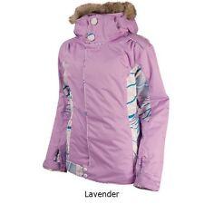 Women Oakley Cover Winter Ski Snowboard Jacket Coat Parka Large L Lavender