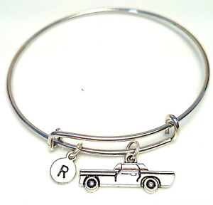 PERSONALIZED-Cadillac-Bangle-Bracelet-choose-an-INITIAL-Cadillac-Jewelry