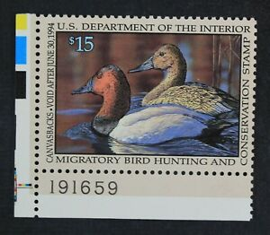 CKStamps-US-Federal-Duck-Stamps-Collection-Scott-RW60-15-Mint-NH-OG