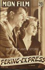Mon film n°358 - 1953 - Joseph Cotten - Corinne Calvet - Barbara Bates -