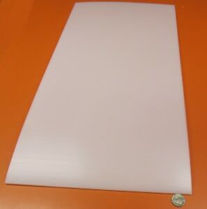 """UHMW Natural White 3//8/"""" Thick 24/"""" Length x 24/"""" Width"""