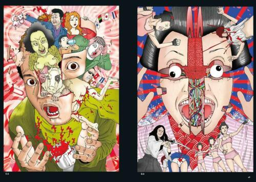 PSL Shintaro Kago Book shishi ruirui Illustration Japan New TH ART SERIES 128p