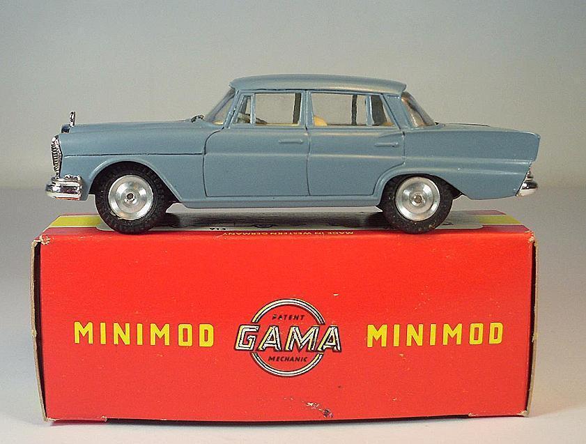 de moda Gama mini-mod 1 47 nº nº nº 9350 mercedes benz 220 s Limousine azul gris OVP  6445  salida de fábrica