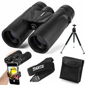 Details about Binoculars 10x42 | Compact and Lightweight | Best for Adults,  Bird Watching,
