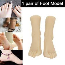 Party Fake Two Feet Model Silicone Female 2 Feet Display Simulation Model Feet